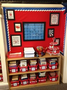Room 10 Tour: Patriotic Theme -SproutClassrooms.com