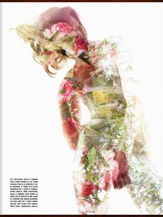 Beauty in Wonderland by Solve Sundsbo for Vogue Italia Beauty September 2013
