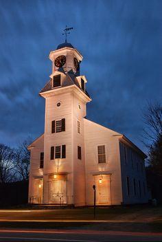 Old Parish Church - Weston, VT by VermontDreams, via Flickr