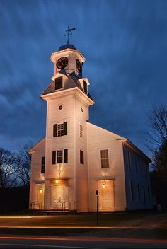 Old Parish Church - Weston, VT by VermontDreams, via Flickr