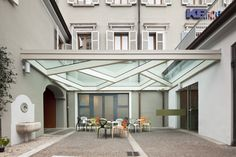 GLASS CANOPY by Dimitri Waltritsch, via Behance