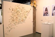 Whitireia at Kete Contemporary Craft  Design Fair. Work by Chloe Reweti and Amelia Pascoe.