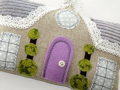 Sweet Dreams Cottage Tooth Fairy Pillow