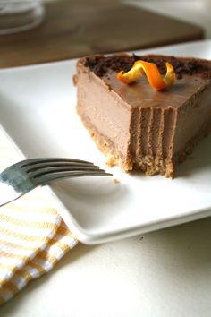 Chocolate Orange Cheesecake: raw, vegan, gluten-free...and guilt-free!