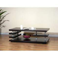 Furniture of America Aven Cappuccino Coffee Table | from hayneedle.com