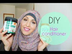 DIY | Masque pour cheveux secs et cassants - YouTube