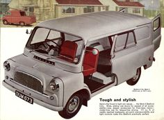 The Bedford CA Van. A surprising choice perhaps, but wonderful because the arrival of one of these curious looking vehicles, when I was a small boy, meant that my Grandparents had come to see me. Bedford Van, Bedford Truck, Cool Trucks, Big Trucks, Cool Cars, Classic Campers, Classic Trucks, Vintage Vans, Vintage Trucks