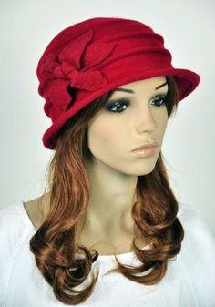 7356cb427f9  14.98 AUD - Jm33 6-Leaf Flower Wool Elegant Lady Women s Warm Winter Hat  Beanie