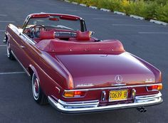 1971 Mercedes-Benz 280SE 3.5 Cabriolet Maintenance of old vehicles: the material for new cogs/casters/gears/pads could be cast polyamide which I (Cast polyamide) can produce