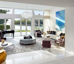 Sunset Island residence, Miami. Brown Davis Interiors. Moris Moreno photo.