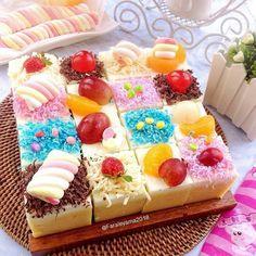 New Birthday Cake Easy Homemade Ideas Vanilla Recipes, Homemade Vanilla, Homemade Cakes, Puding Cake, Resep Cake, Brownies, Pudding Desserts, Dessert Recipes, Cake Recipe For Decorating