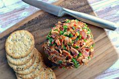 Homemade Bacon Jalapeno Cheese Ball