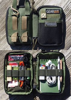 Maxpedition Mini Pocket Organizer:Mini EDC Set