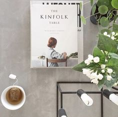 Morning tea and an all-time good read. We love Kinfolk Magazine - like you, we would imagine. Photo by @stylizimoblog