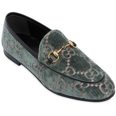 53492d13658 Gucci Women 10mm New Jordan Gg Velvet Loafers (2