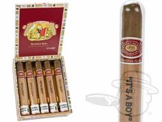Romeo Y Julieta Reserva Real It's a Boy Tubes 5 1/2 x 44—Box of 10 - Best Cigar Prices