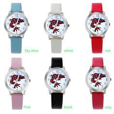 Disney Brand Children Watches Girl Leather Quartz Clocks Students Waterproof Girls Watch Cartoon Sofia Princess Wristwatch Attractive Designs; Watches