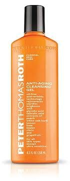 Peter Thomas Roth Anti-aging Cleansing Gel :smells peachy