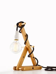 Ernest Studio - Sticks & Holes, Table Lamp 5133, Various Materials and Colours (FREE SHIPPING in AUSTRALIA)