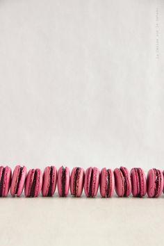 https://flic.kr/p/t5PhVv | macarons007 | Macarons à la mûre Blackberry macarons