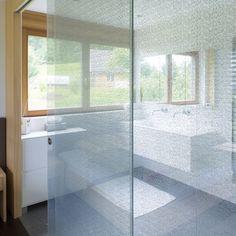 Panel de vidrio para puerta / para decoración interior / para comercio / para bar LAMIMARTEX - Textil im Glas  Glas Marte GmbH