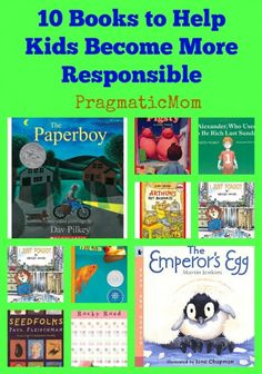 10 Books to Help Kids Become More Responsible :: PragmaticMom