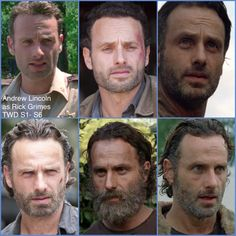 Andrew Lincoln/ Rick Grimes #TheWalkingDead #TWDFamily