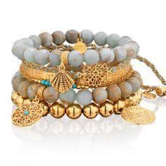 Głębia oceanu #mokobelle #mokobellejewellery #gold #collection #fashion #accessories #look