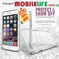 Spigen iPhone 6 / 6 Plus Liquid Crystal Clear case