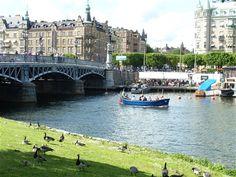 Summer in Stockholm by Lily FlytoSalento. #PinStockholm #VisitSweden