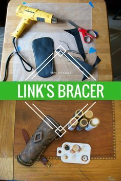 how, to, make, a, bracer, link, link's, legend, of, zelda, breath, of, the, wild, cosplay, worbla, thermoplastic, craft foam, diy