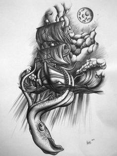 """""""Giant Squid"""". via KloudPics mobileapp"""