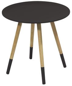 Bijzettafels!! Side table Two Tone black by Zuiver at stealtheroom.com