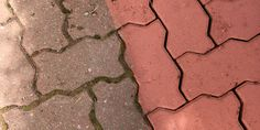Is your garden paving looking a little drab and - try giving it a fresh burst of life by first cleaning or pressure washing it down, leaving it to dry again and giving it a fresh coat of paint to bring out the colour! Garden Paving, Pressure Washing, Painted Furniture, Exterior, Patio, Painting, Color, Terrace, Cleaning