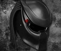 If owning a motorcycle didn't make you look like a bad-ass already, now you can wear these novelty Predator style motorcycle helmets to really turn some heads on the highway. Infrared vision and cloaking technology sold separately. This helmet is not DOT certified. Buy It $780.00 via NLO-Moto.ru