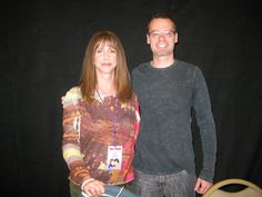 Me with Laraine Newman