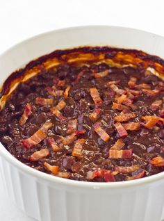 Slow Simmered Barbeque Black Beans - Click for Recipe