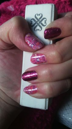 What a hoot and Raspberry sparkle Jamberry combo