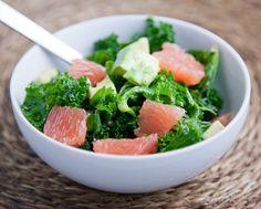 Kale, Avocado, and Grapefruit Salad
