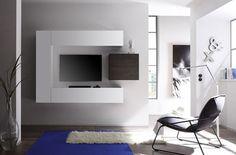 ensemble tv mural design nina laqu blanc et weng
