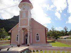 Church in Bora Bora