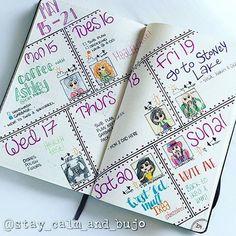 Bullet journal idea