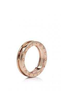 Bvlgari B.Zero1 1-Band 18KT Pink Gold Ring