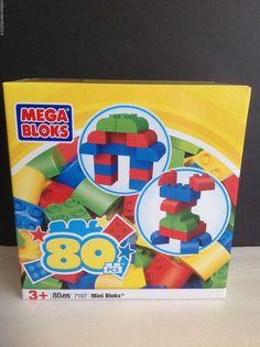 Mega Bloks Mini 80 Pieces # 7107  by Mega Brands Inc. 2010 #MegaBloks