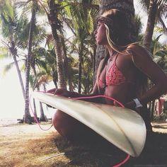 Surf :: Ride the Waves :: Free Spirit :: Gypsy Soul :: Eco Warrior :: Surf Girls :: Seek Adventure :: Summer Vibes :: Surfboard Design + Style :: Free your Wild :: See more Untamed Surfing Inspiration @untamedmama Beach Vibes, Summer Vibes, Beach Bum, Summer Beach, Summer Sun, Hawaii Beach, Pink Summer, Beach Hair, Ocean Beach