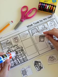 Awesome fire safety printables and centers!