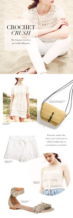 Shop the Trend: 4 Ways to Wear Crochet >> click through to shop the post!
