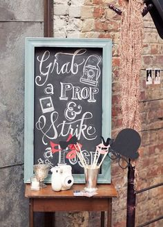 Photo booths are such a fun way to give your guests an extra special treat during an event. Click to read about how to create a DIY photo booth with things you already own: http://www.colincowieweddings.com/inspiration-and-details/create-a-diy-photo-booth-with-things-you-already-own
