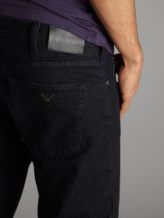 Armani Jeans Tapered blue wash jeans #houseoffraser http://ow.ly/oAAiK