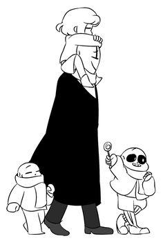 GIF- Happy Family (Undertale) by Rensaven